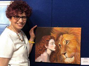 artista Flavia Piccolo, pittrice contemporanea.